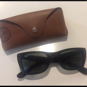 Ray-Ban Black Caribbean Polarized Sunglasses